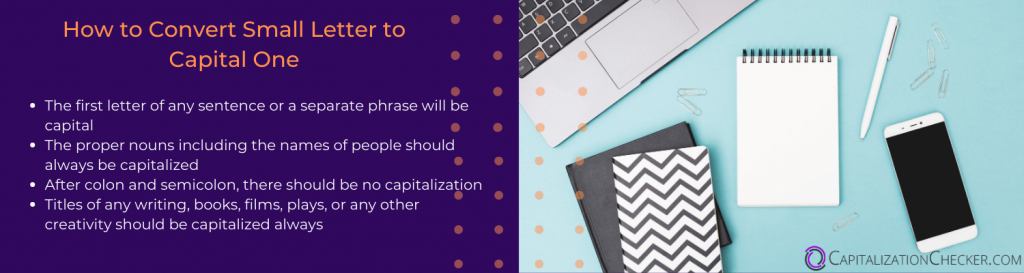 how to  capitalize online